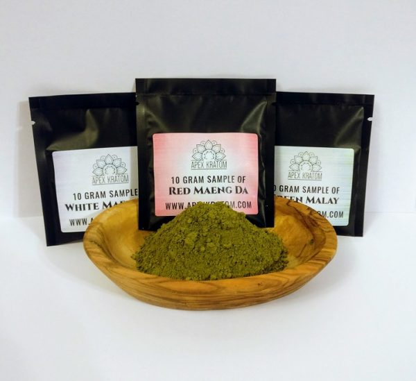 Kratom powder free sample